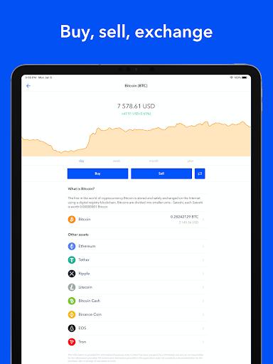 Bitcoin Wallet - Buy BTC 6 تصوير الشاشة