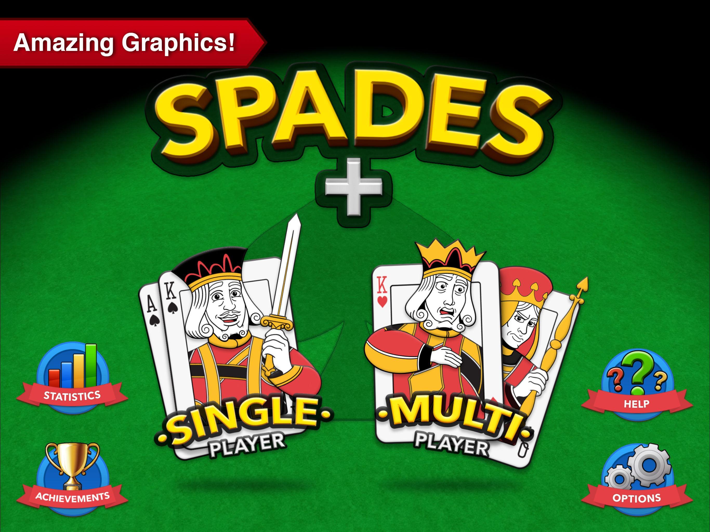 Spades + 7 تصوير الشاشة