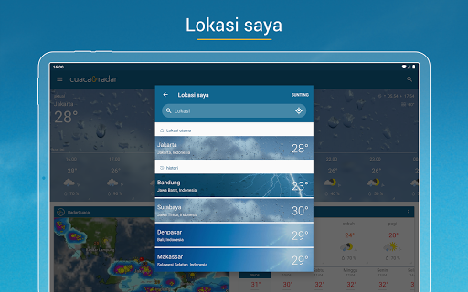 Cuaca & Radar screenshot 11