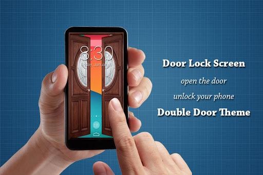 Door Lock Screen 1 تصوير الشاشة