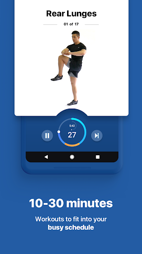 Fitify: Workout Routines & Training Plans screenshot 3