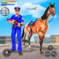 Mounted Police Horse Chase 3D on 9Apps