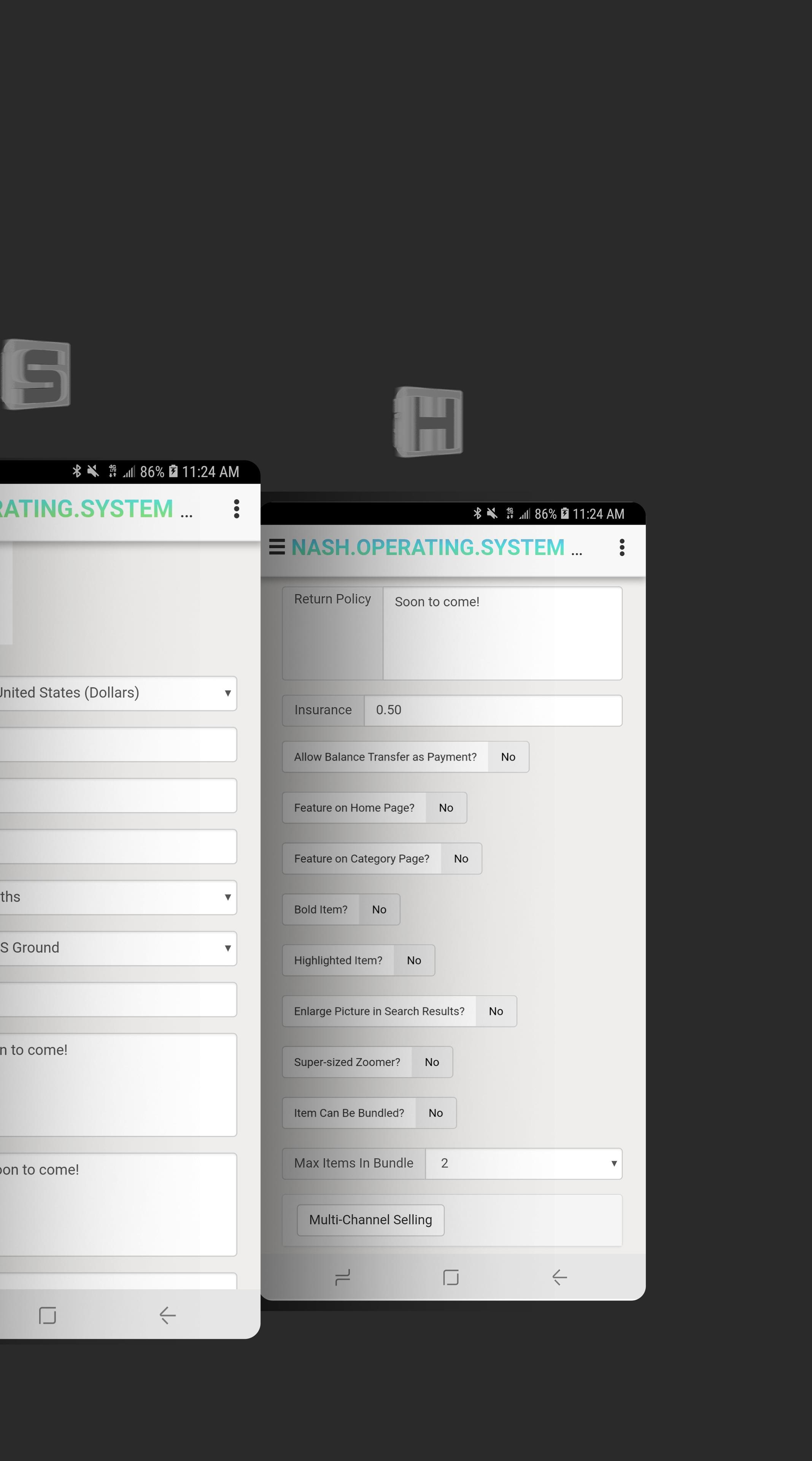 NASH OS APP (MOBILE DEMO) screenshot 6