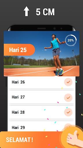 Latihan Peninggi Badan - Meningkatkan Tinggi Badan screenshot 5