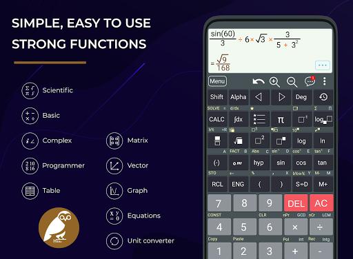 HiEdu Scientific Calculator : He-570 screenshot 1