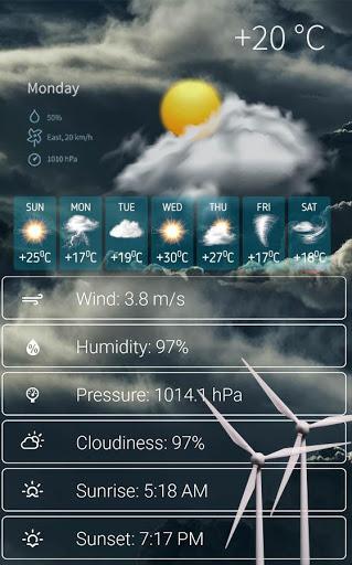 Live Aaj Ka Mausam - मौसम की ताज़ा जानकारी 2 تصوير الشاشة