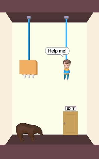 Rescue Cut - Rope Puzzle screenshot 7