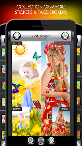 Flowers Photo Editor: Frames, Stickers & Collage screenshot 5