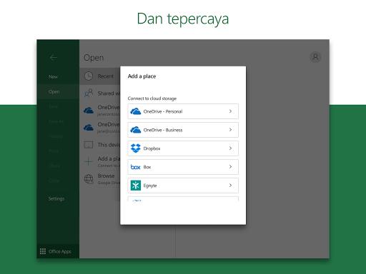 Microsoft Excel: Buka, Edit, & Buat Lembar Bentang screenshot 9