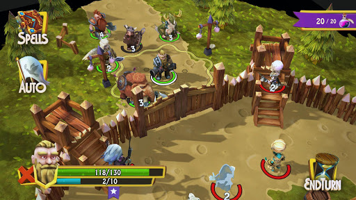 Heroes of Flatlandia - Turn based strategy screenshot 2