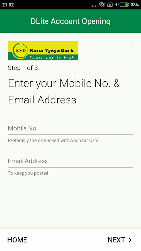 KVB - DLite & Mobile Banking screenshot 2