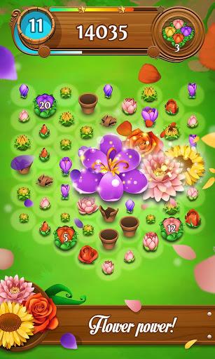 Blossom Blast Saga 3 تصوير الشاشة