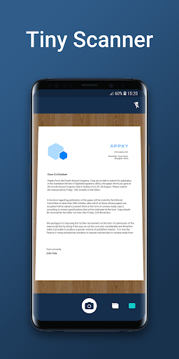 Tiny Scanner - PDF Scanner App screenshot 1