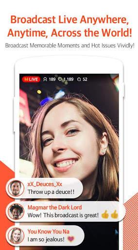 Mobizen Live Stream for YouTube - live streaming screenshot 1