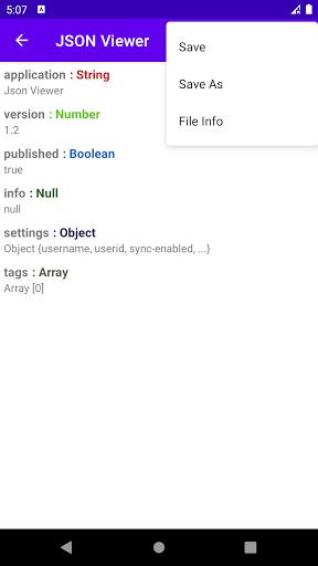 JSON Viewer & Editor screenshot 5