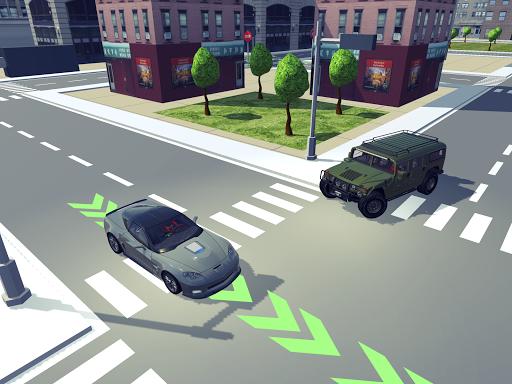 Driving School Simulator 2020 12 تصوير الشاشة