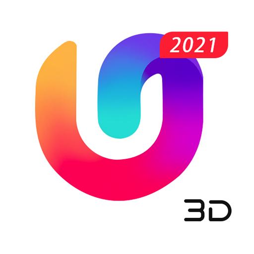 U Launcher 3D: New Launcher 2020, 3d themes أيقونة