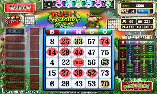 Irish Treasure Rainbow Bingo FREE screenshot 1