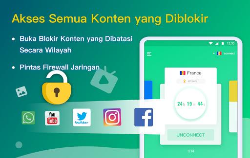 NetCapsule VPN | Proksi Gratis, Cepat, Buka Blokir screenshot 8