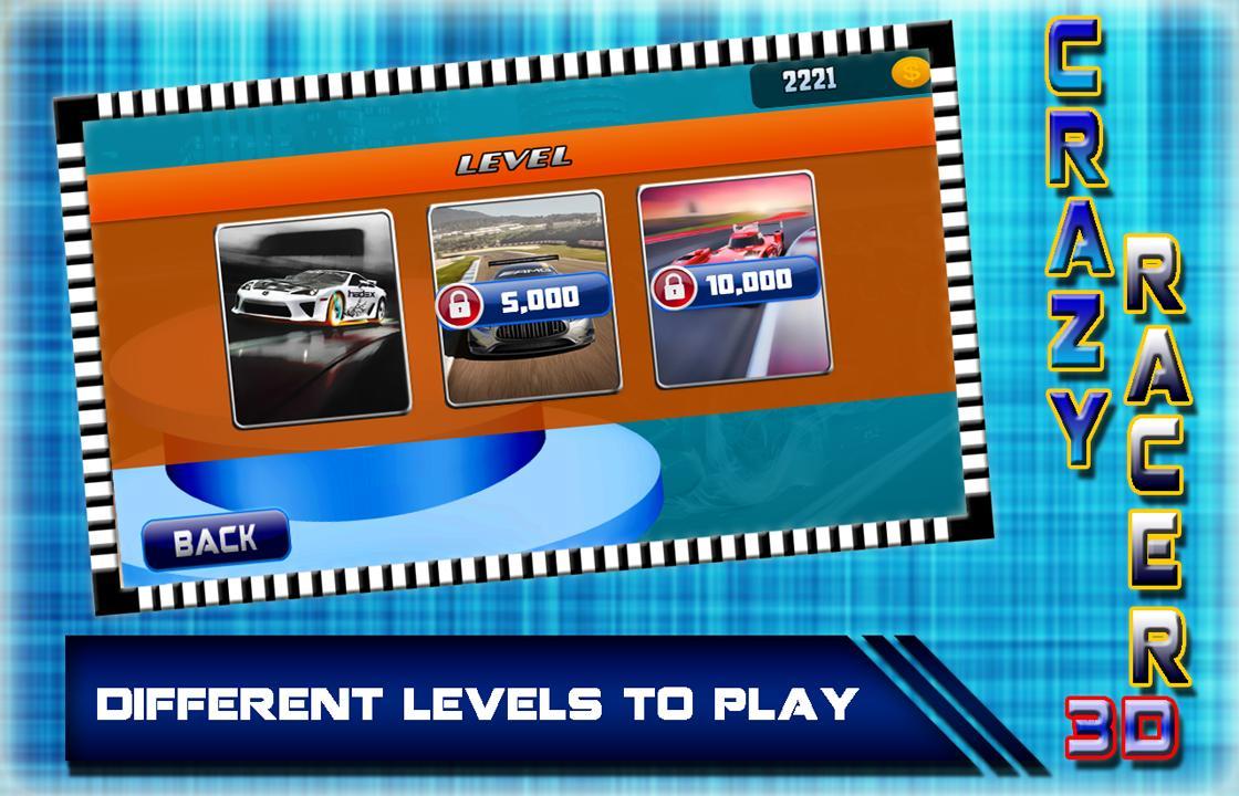 Crazy Car Racing 3D 2017: Rush Hero Driver screenshot 6