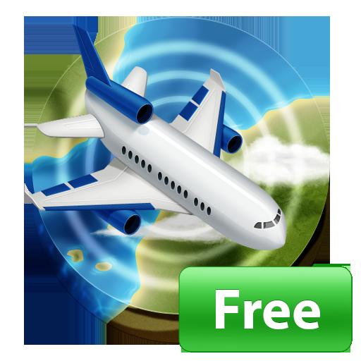 رحلة طيران حالة المسار والمطار فلايتبوارد أيقونة
