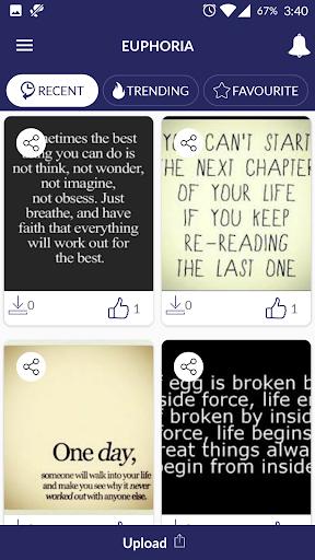 Euphoria - Quotes & Wallpapers screenshot 2