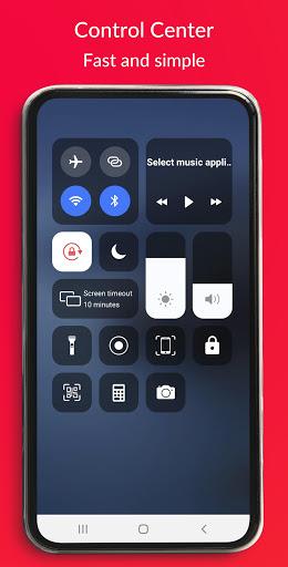 Control Center IOS 13 - Screen Recorder screenshot 1