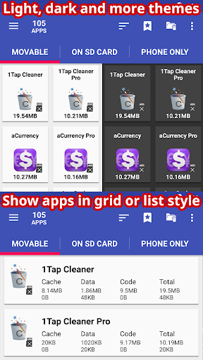 AppMgr III (App 2 SD, Hide and Freeze apps) screenshot 5