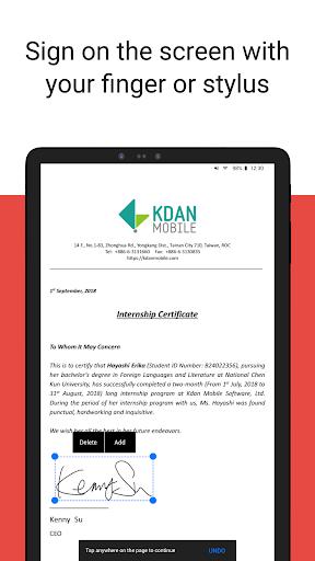 PDF Reader - Sign, Scan, Edit & Share PDF Document screenshot 12