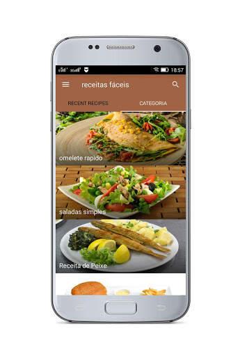 Receitas Fáceis - Receitas Simples e Deliciosas screenshot 3