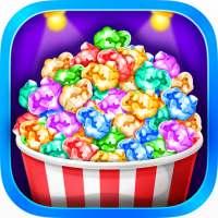 Popcorn Maker - Yummy Rainbow Popcorn Food on 9Apps