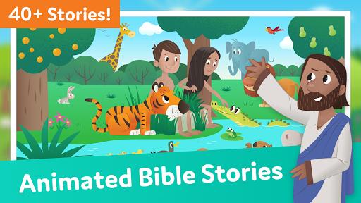 Bible App for Kids: Audio & Interactive Stories screenshot 1