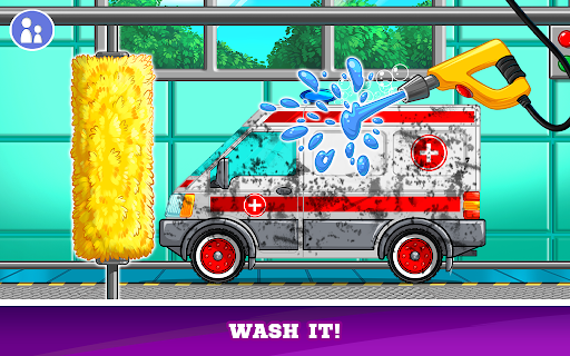 Kids Cars Games! Build a car and truck wash! screenshot 3