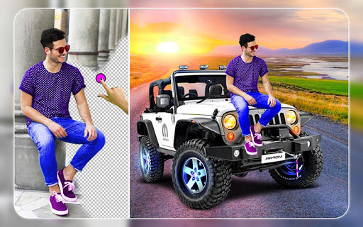 New Jeep Photo Editor - Photo Frames 1 تصوير الشاشة