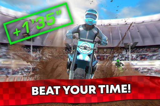 Free Motor Bike Racing - Fast Offroad Driving Game screenshot 3
