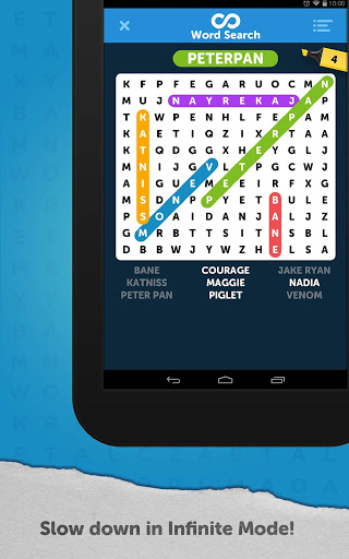 Infinite Word Search Puzzles स्क्रीनशॉट 18
