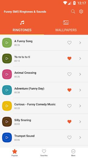 Funny SMS Ringtones & Sounds screenshot 6