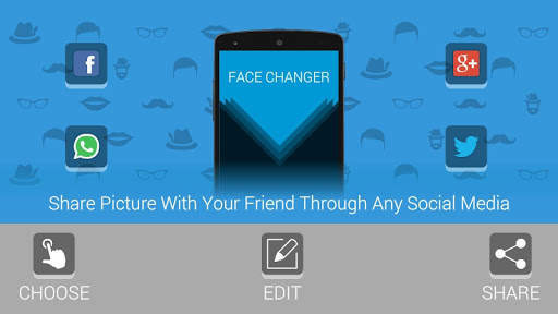 FACE CHANGER - EDITOR screenshot 4