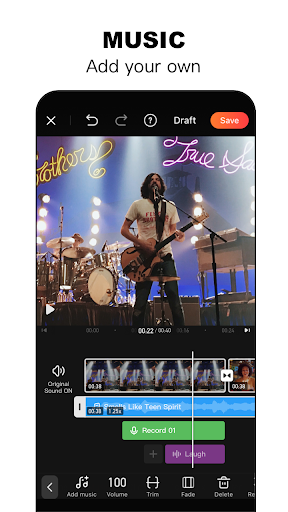 Video Editor&Maker - VivaVideo स्क्रीनशॉट 6