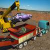 Monster Car Crusher Crane 2019: City Garbage Truck icon