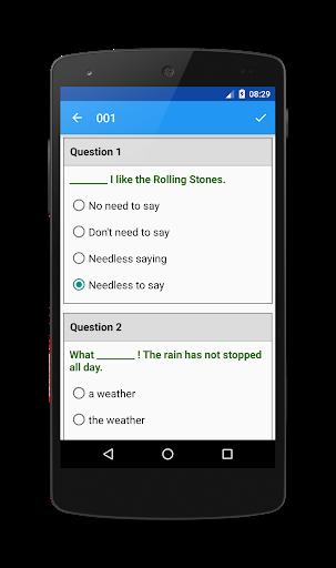 TOEFL Preparation screenshot 3