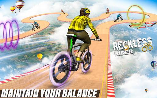 Reckless Rider- Extreme Stunts Race Free Game 2020 screenshot 10