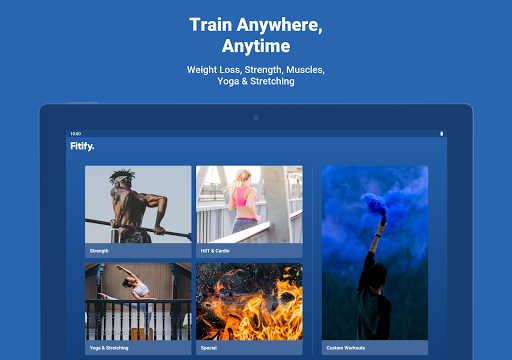 Fitify: Workout Routines & Training Plans screenshot 12