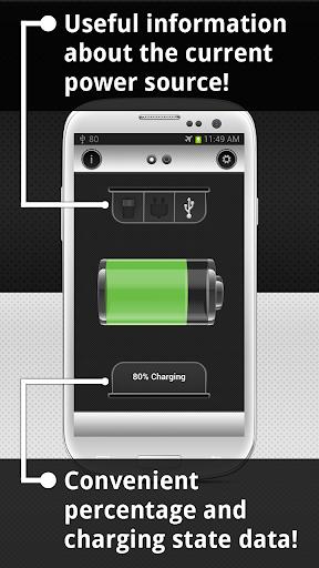 Show Battery Percentage 4 تصوير الشاشة