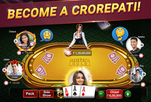 Teen Patti Gold - 3 Patti & Rummy & Poker 1 تصوير الشاشة