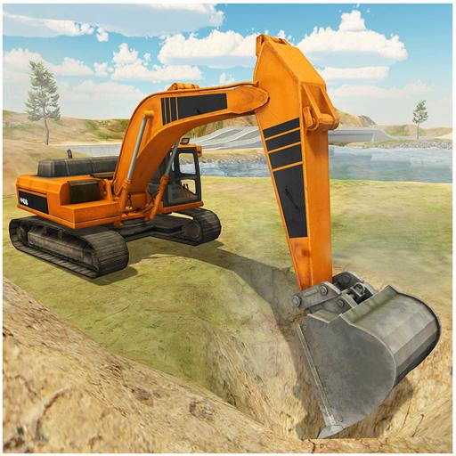 Heavy Excavator Construction Simulator PRO icon