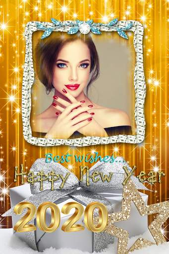 2021 New Year Photo Frames Greeting Wishes screenshot 9