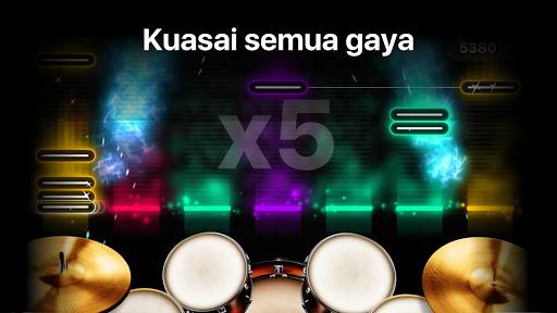 Drums: game musik alat drum sungguhan screenshot 4