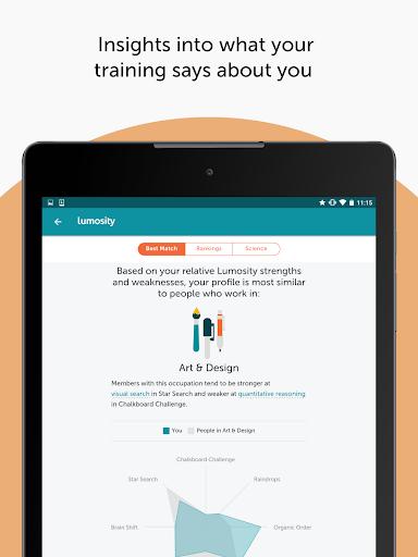 Lumosity: Brain Training screenshot 22