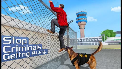 US Police Dog 2019: Airport Crime Shooting Game 3 تصوير الشاشة